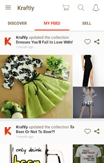 Online Shopping Mobile App Review - Kraftly