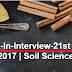 Walk-In-Interview-21st Dec. 2017 | Soil Science