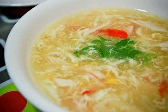 Resep Sup Jagung  Manis Telur Ayam Gurih