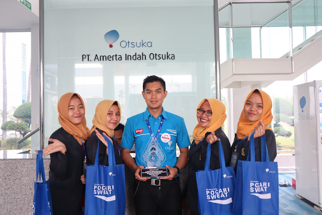 Lowongan Kerja PT. Amerta Indah Otsuka, Jobs: Teknik Staff, Sales Executive, Area Sales Development Program Process, Kaizan Staff.