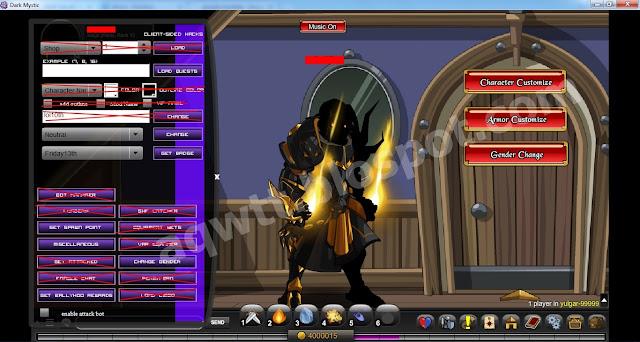 Dark Mystic features