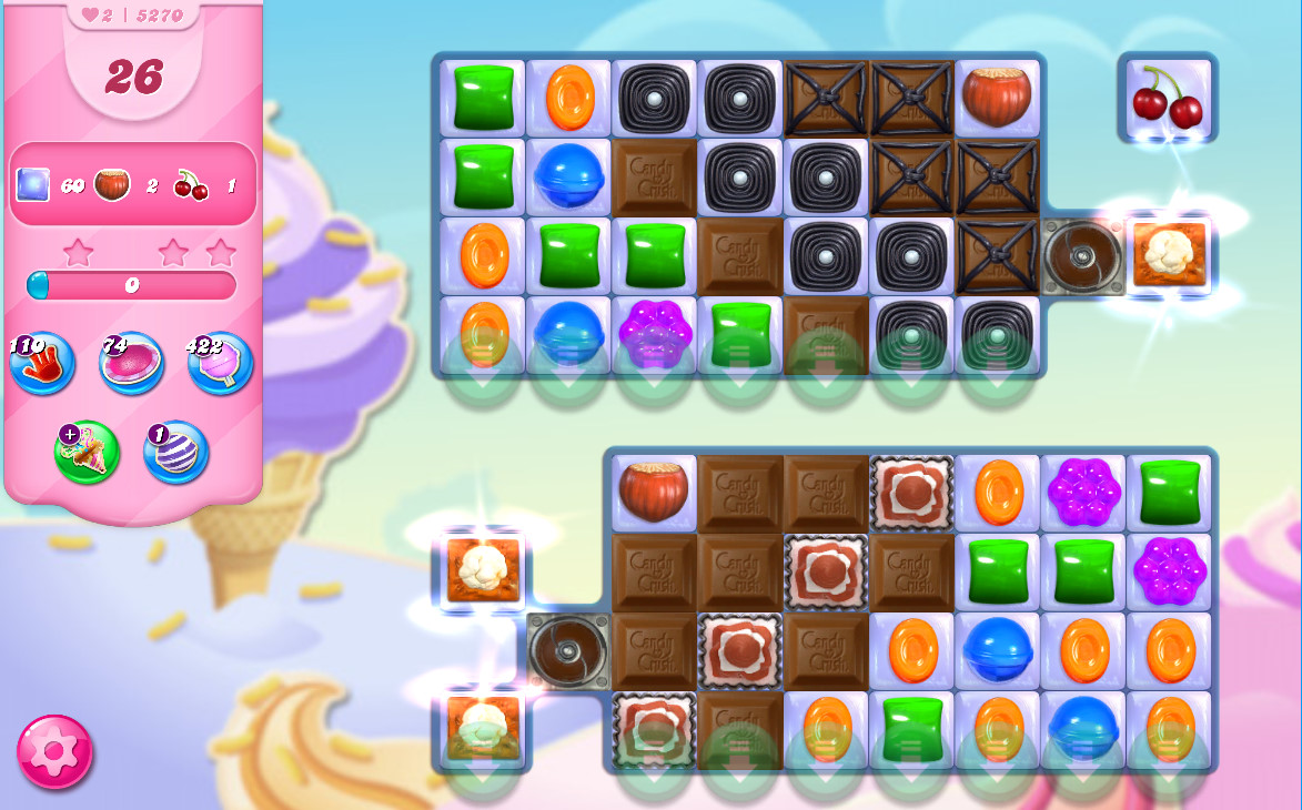 Candy Crush Saga level 5270