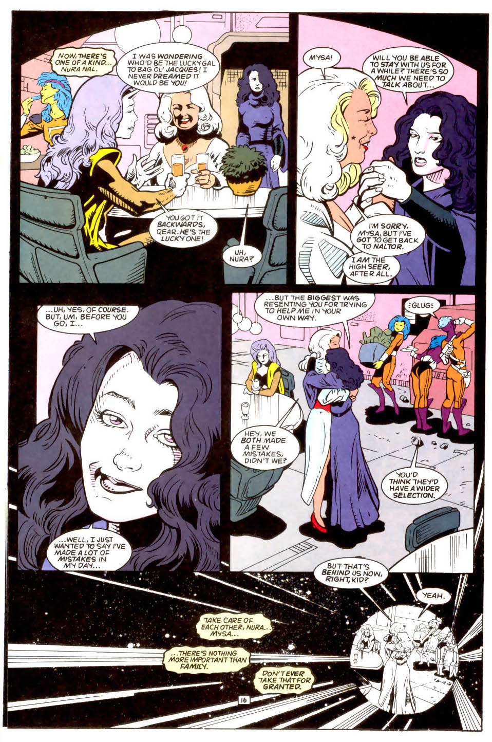 Legion of Super-Heroes (1989) 50 Page 16