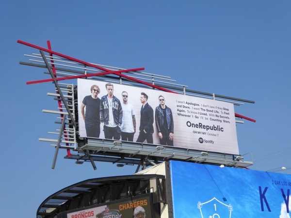 One Republic Oh My My album billboard