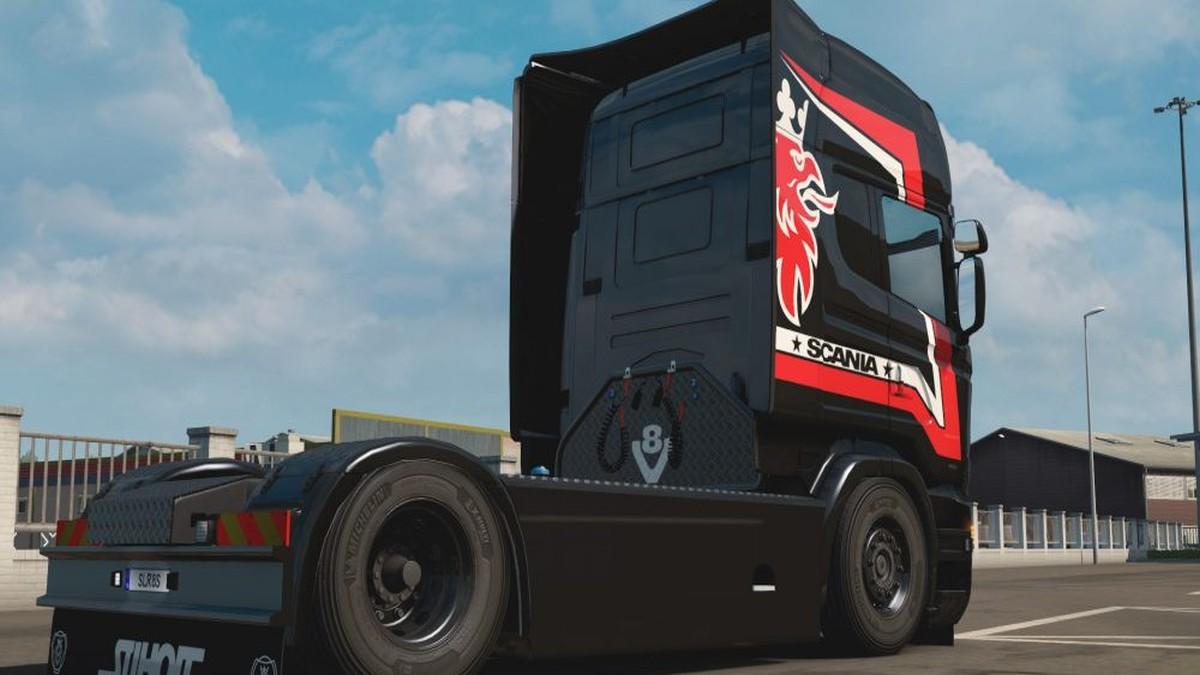 Sirius Skin for Scania RJL