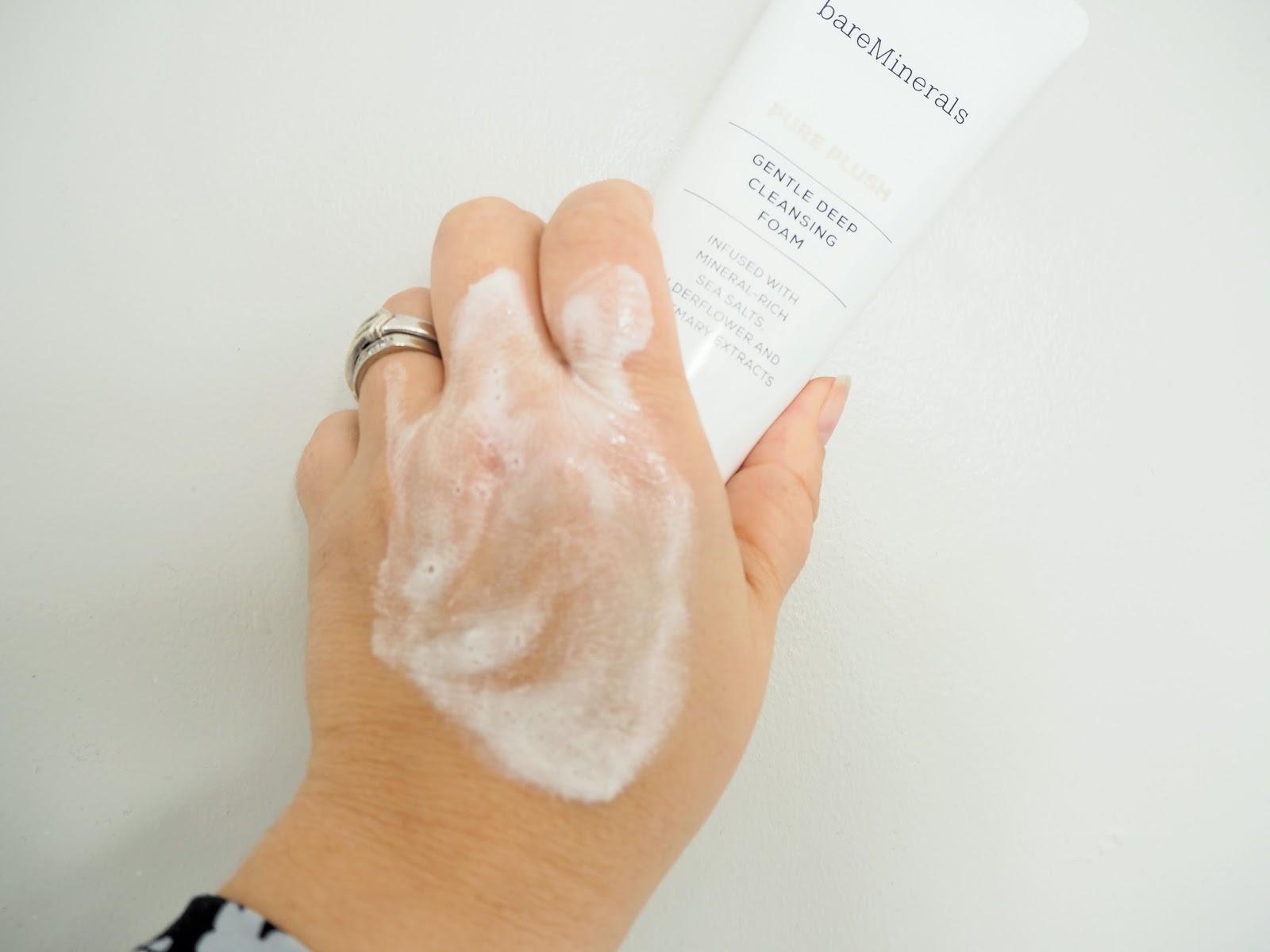 bare minerals gentle deep cleansing foam