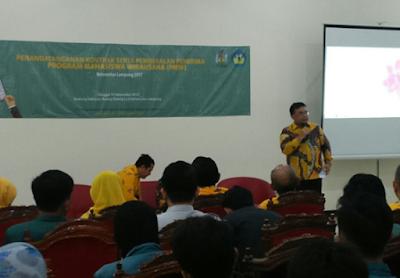 Pemenang Program Mahasiswa Wirausaha (PMW) Universitas Lampung 2017 Teken Kontrak Kerjasama