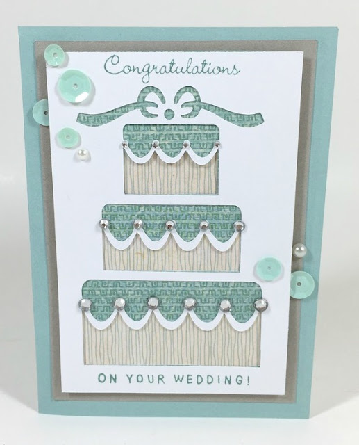 Cricut Wedding Pop-Up card