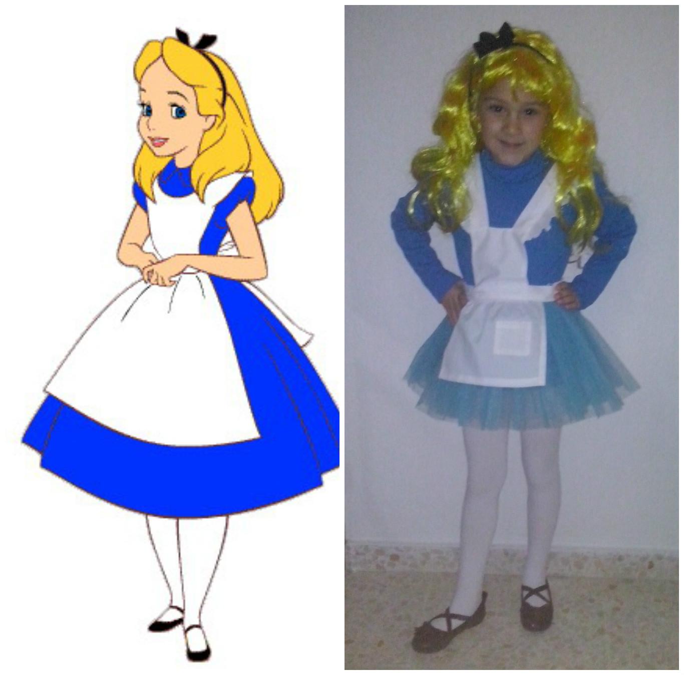 Vestido Alicia en el país de las maravillas Tutu Alice in ...
