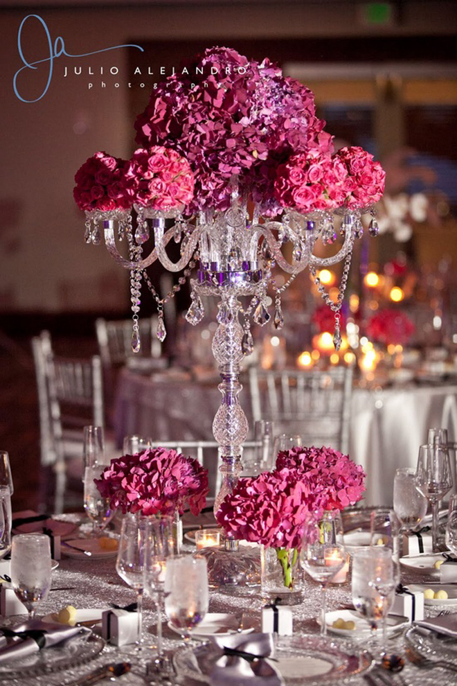 25 Stunning Wedding Centerpieces Part 14 Belle The