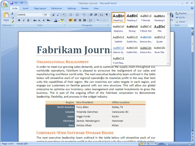 free download software microsoft office 2007 full version