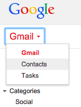 Google All Your: Google Contacts Preview and Gmail