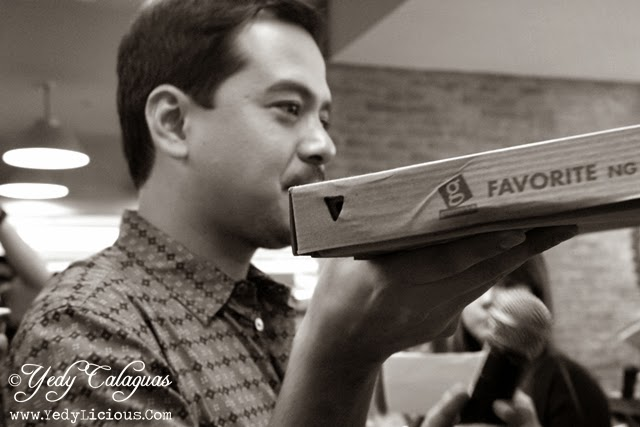 JLC Endorser of Greenwich Pizza