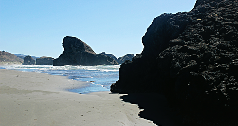 meyers beach oregon coast pch
