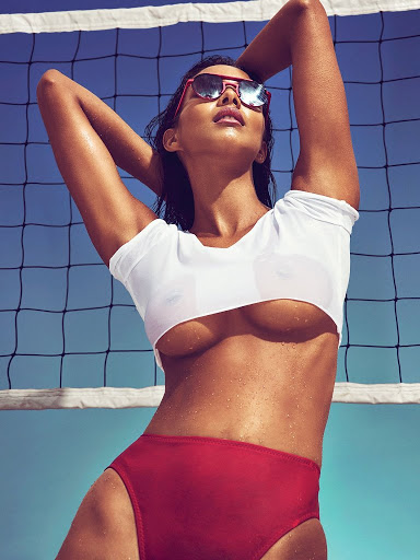 Lais Ribeiro hot models topless photo shoot for GQ Mexico Magazine