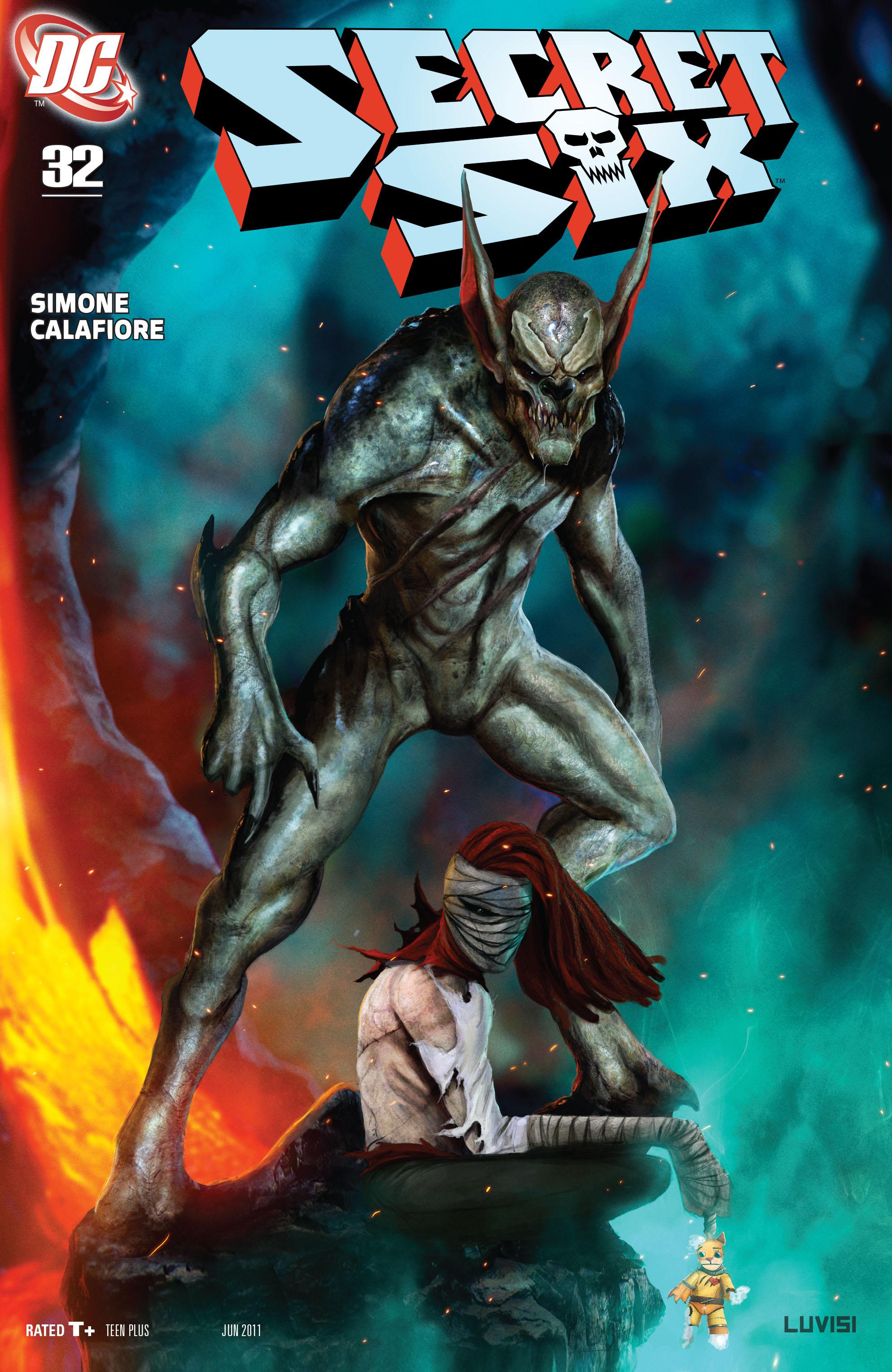 Read online Secret Six (2008) comic -  Issue #32 - 1