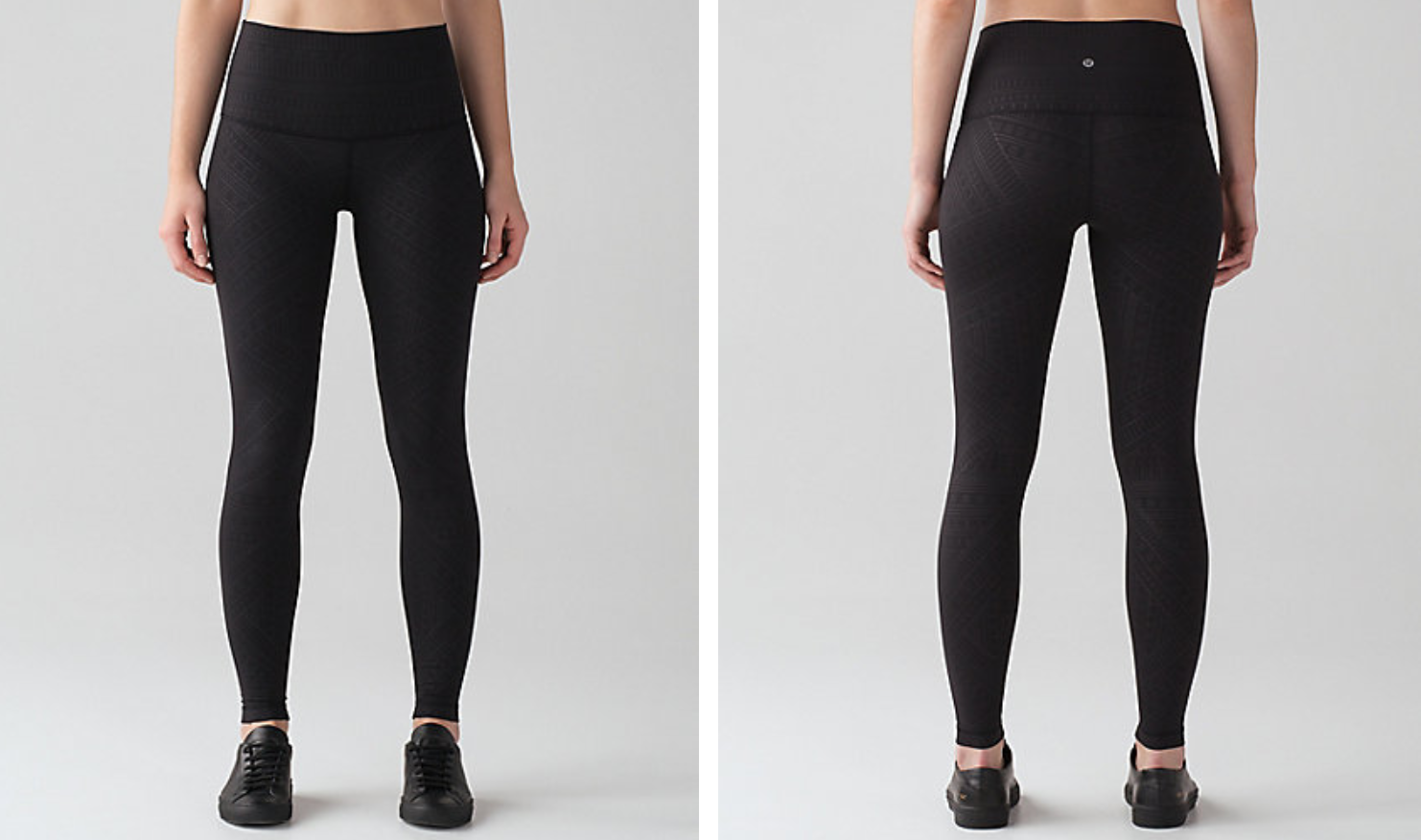 Lululemon Wunder Under Tight Adorn Emboss