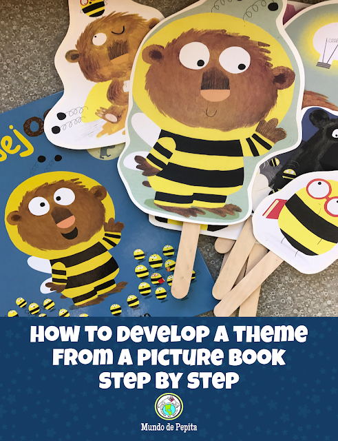 How to Develop a Theme from a Picture Book in FLES classes Step by Step