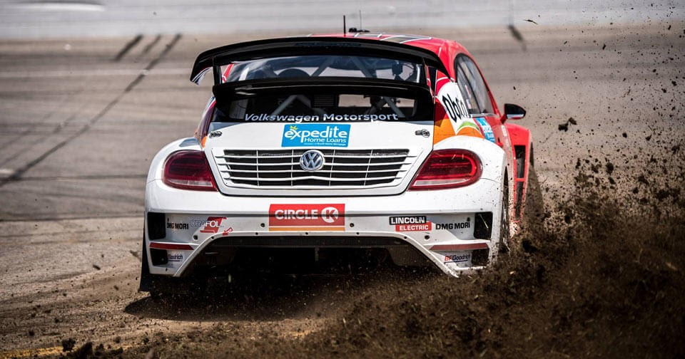 Scott Speed Wins Third Red Bull Global Rallycross Championship