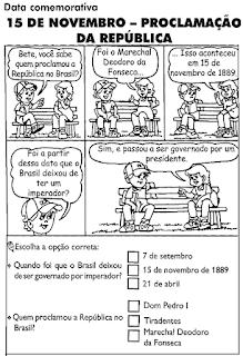 Desenho proclamação República