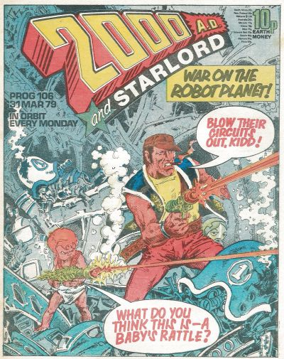 2000 AD, Prog 106, Robo-Hunter