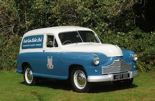 Standard Vanguard van in Cars Auto Sales livery