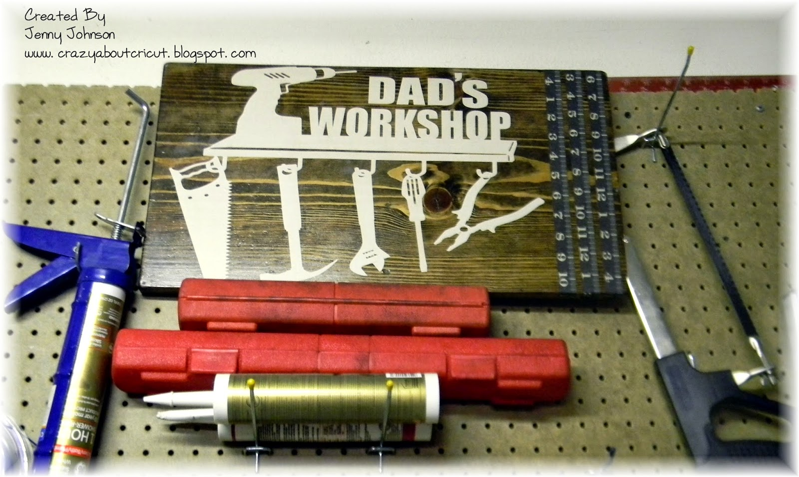 Crazy About Cricut Super Dad Blog Hop