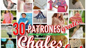 30 Patrones de Chales para Tejer / Colección