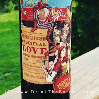 2016 Mollydooker Carnival of Love Shiraz Label
