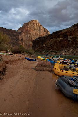 Rainy evenings bring amazing sunrises, grand canyon, colorado, chris baer