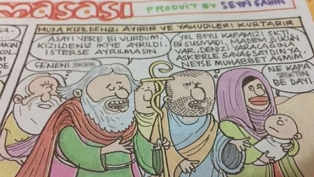 Gırgır Hazreti Musa Karikatürü