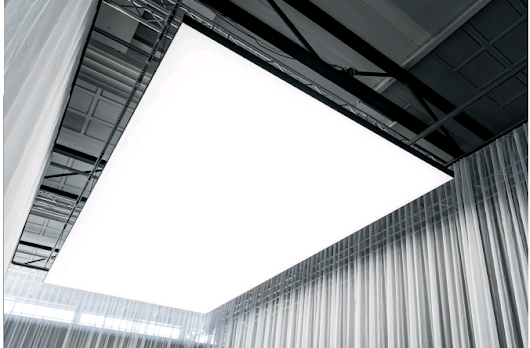 It's not a fixture, it's not a lamp, it's Philips' OneSpace luminious ceiling