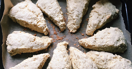 Recipe: Luscious Lemon Scones