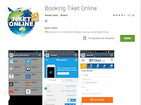 Booking Tiket Oline Aplikasi Android