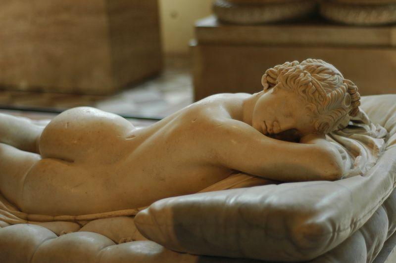 Ermafrodito dormiente | Dopo 203 anni esposto a Roma