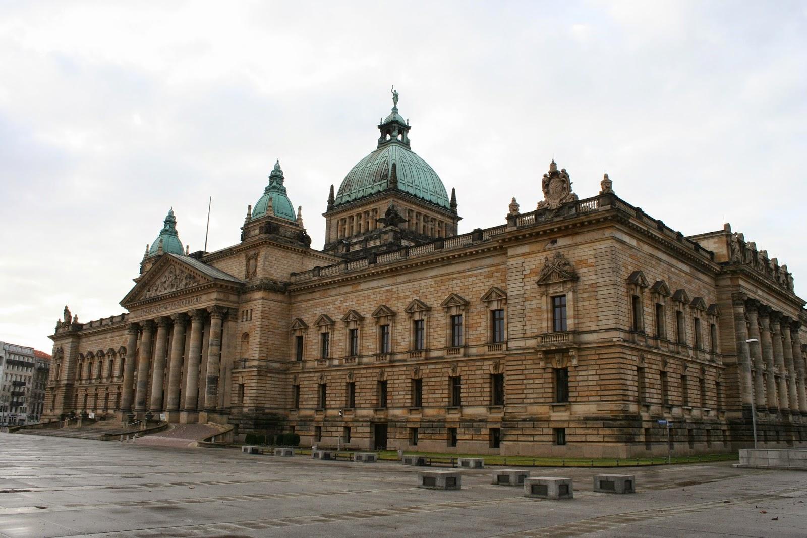 Bundesverwaltungsgericht Leipzig Gebäude