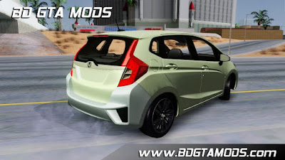 Honda Fit 2016 para GTA San Andreas, 2016 Honda Fit for GTA SA