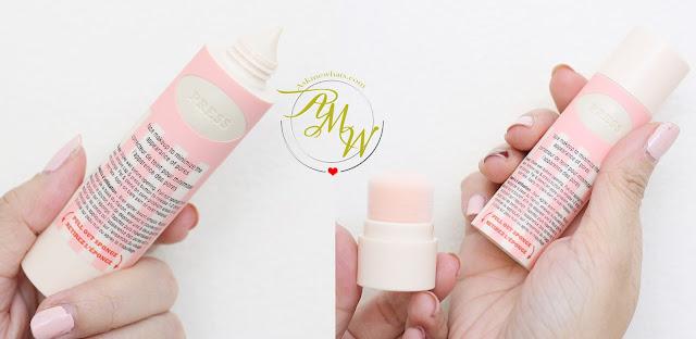 一张有利的专业毛孔的照片,最大限度地减少在阴影2的化妆审查。
