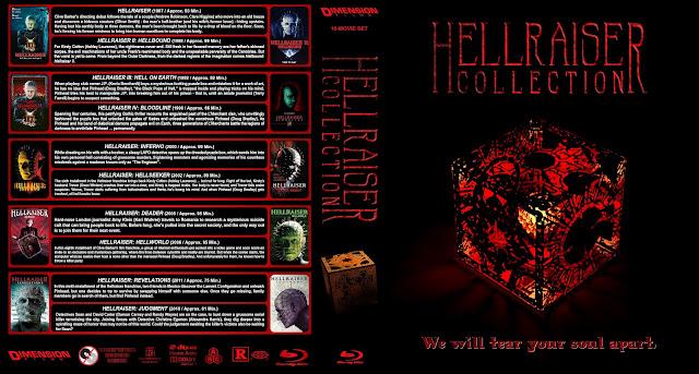 Hellraiser Collection Bluray Cover