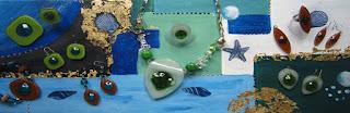 Amarre de bijoux Créations Sandrine Nouvelot - Createurs de verre