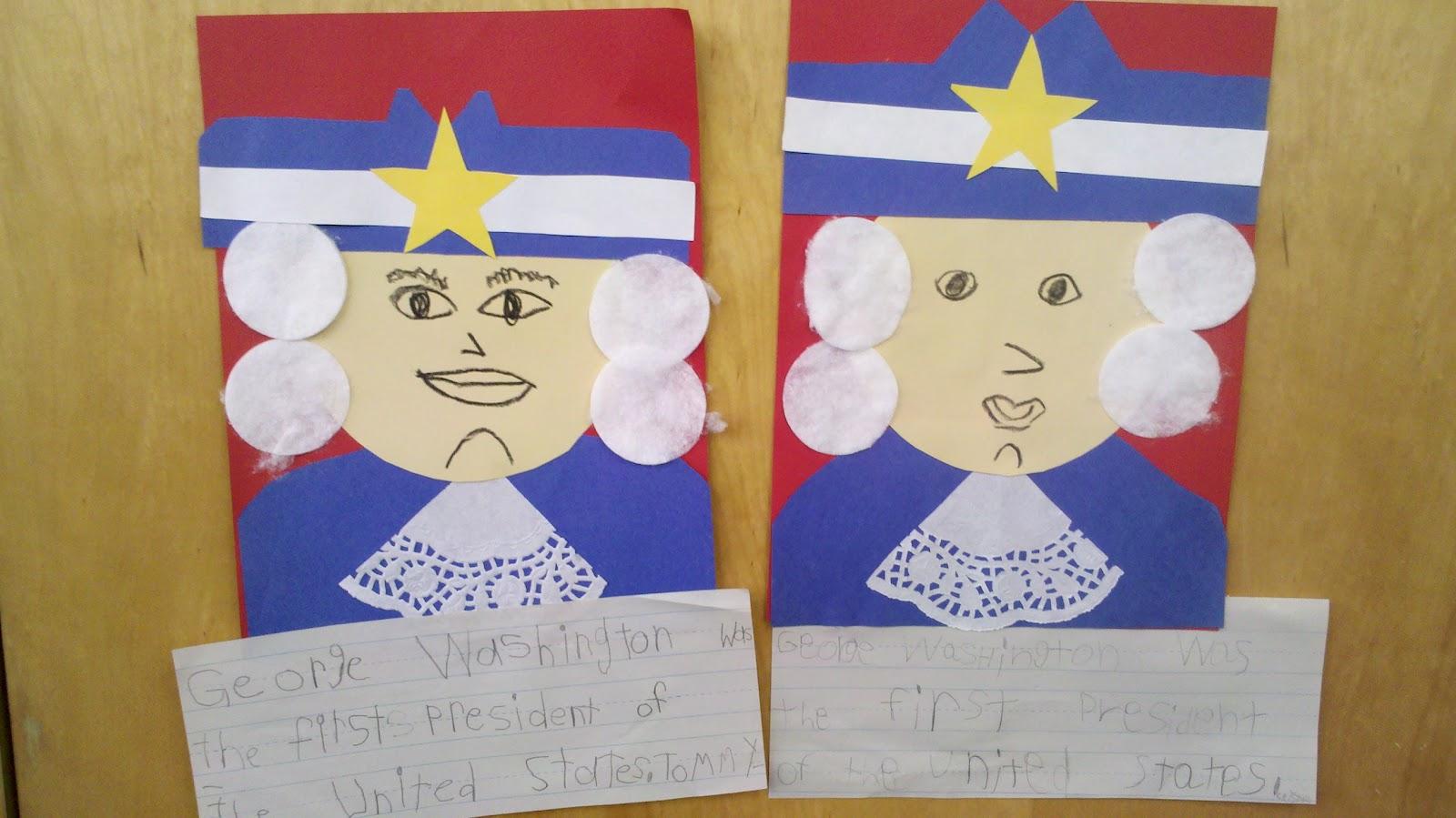 I Heart My Kinder Kids President S Day Craft