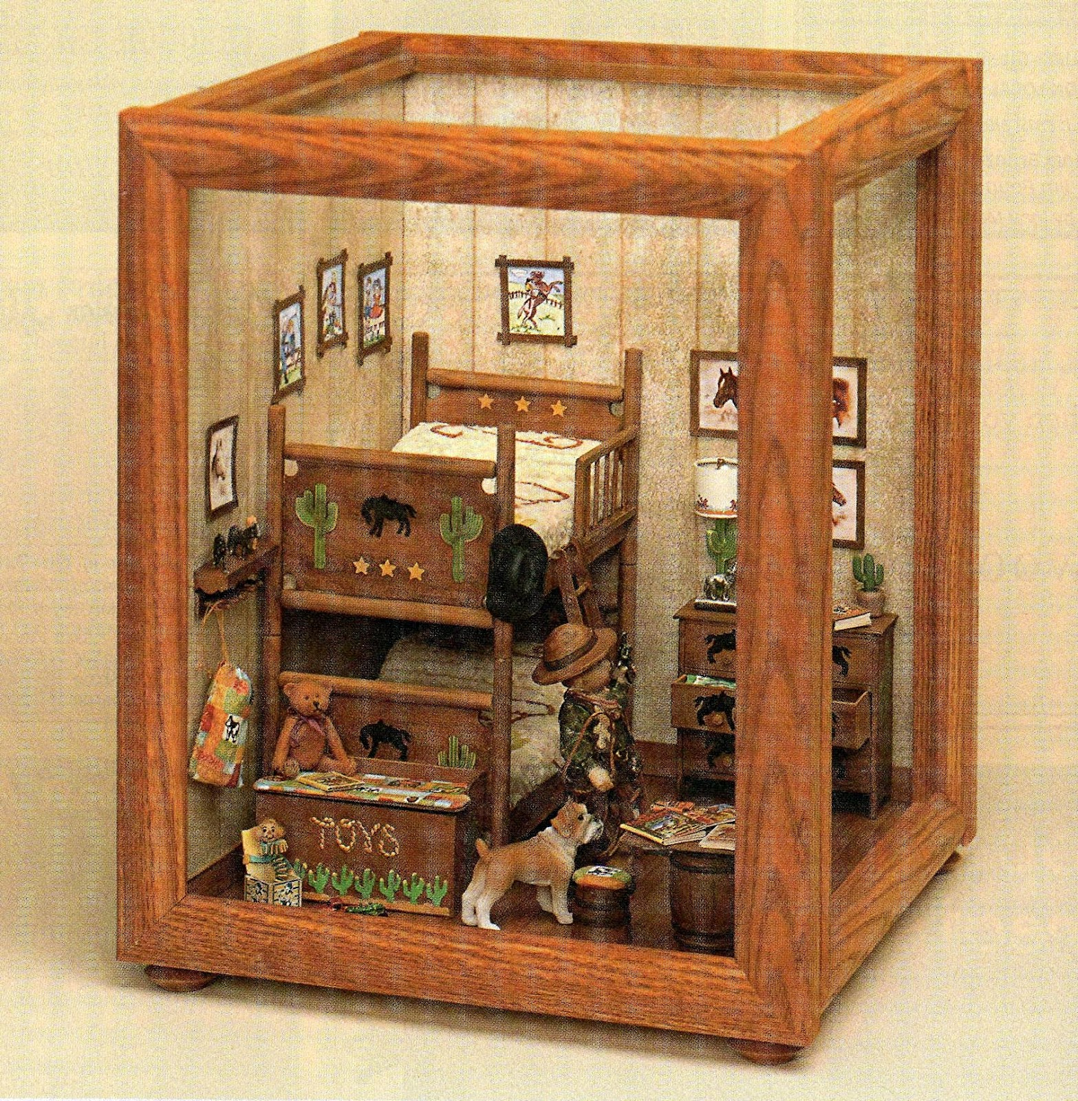Dollhouse Miniatures Diy: DYI DOLLHOUSE MINIATURES: MAKING ROOMS & DISPLAY BOXES