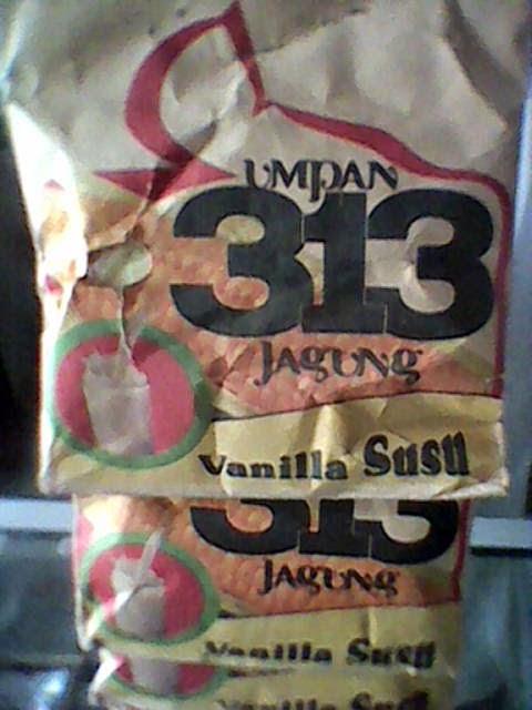 umpan mancing ikan mas cap 313 jagung rasa vanilla susu