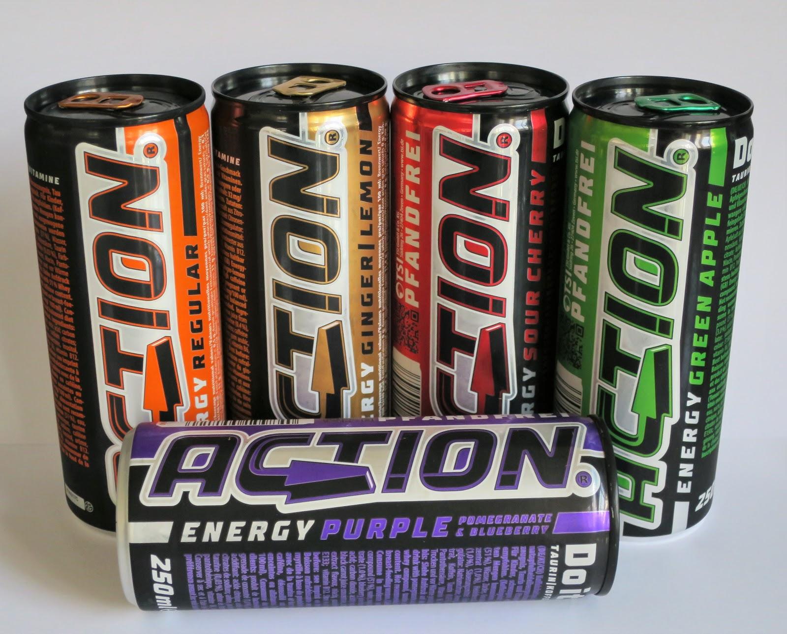 Energy Plattform: Unterstützung durch Action Energy Drink / TSI ...
