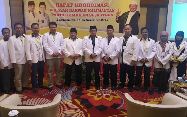 Harapan Ketua PKS Kalteng dalam Rakorwilda Kalimantan