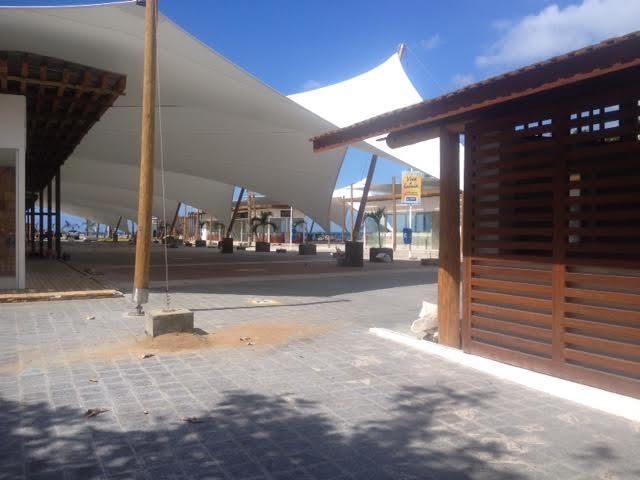Novos restaurantes instalados na área do antigo Mercado do Peixe com previsão de funcionar no inicio de abril