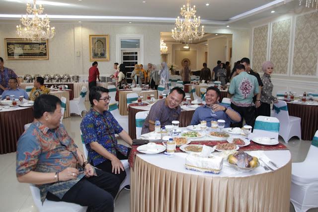 HD Bertemu Gubernur Lampung ini yang Dibicarakan