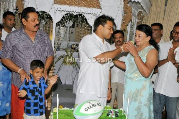 Our Lanka: Namal Rajapaksa turns 28... Birthday Photos