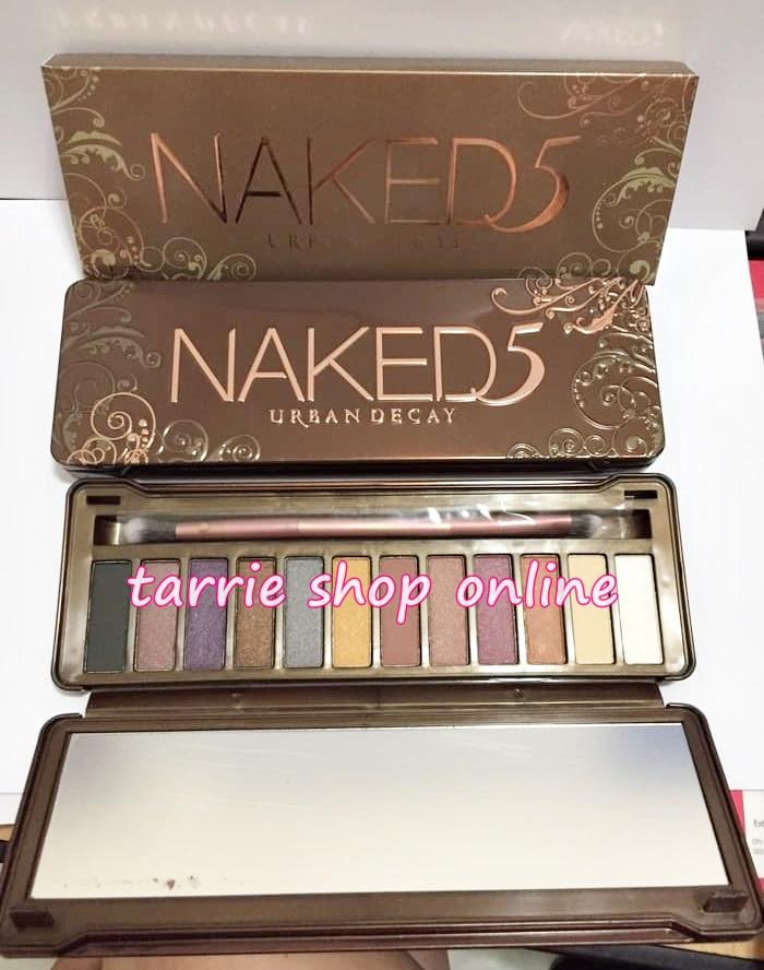 Naked 5 Eye Shadow Urban Decay Pallete