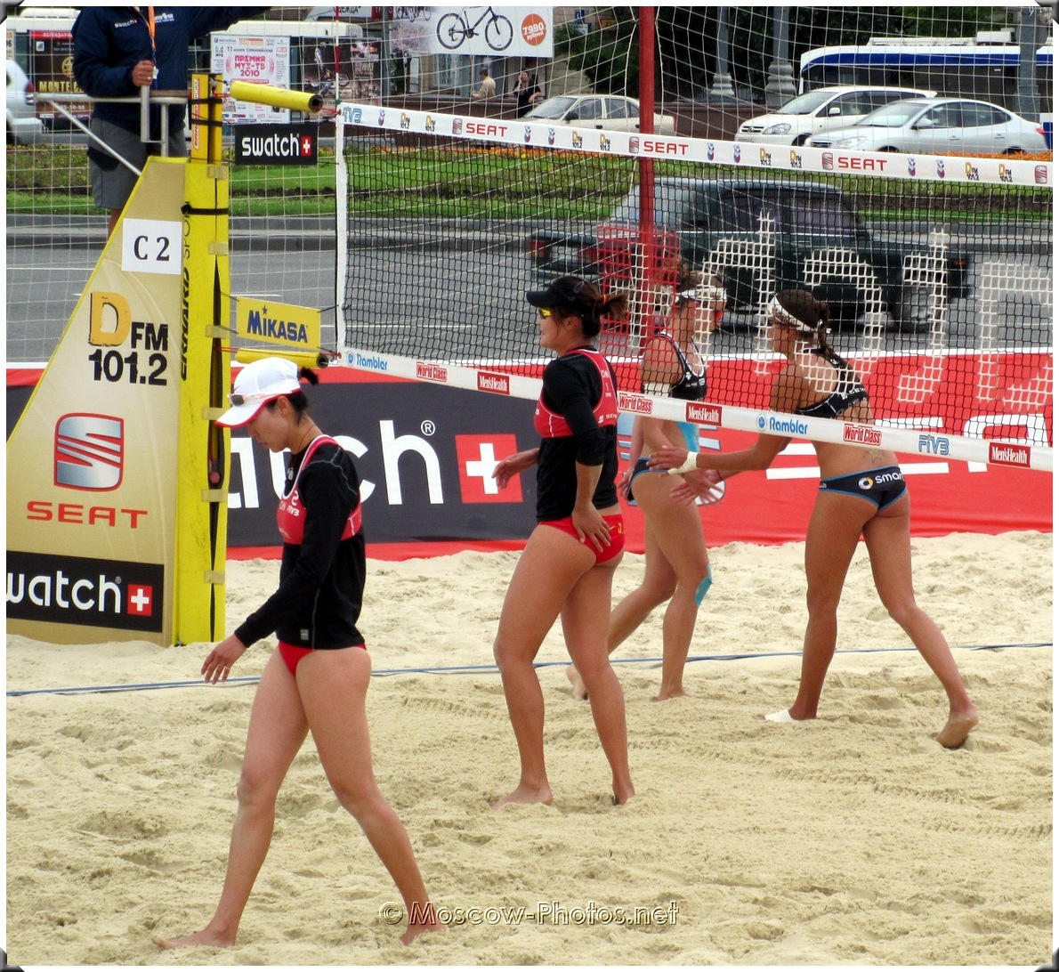 Moscow Grand Slam Beach Volleyball World Tour 2010 Presented By Seat